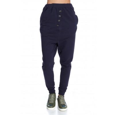 SHEEP WOMAN BLUE OLD PANTS