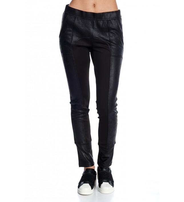 DEER WOMAN BLACK PANTS