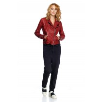 BONNIE WOMAN RUBY RED JACKET