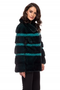 JACKET GREEN MINK