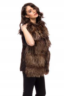 VEST PI BROWN FOX
