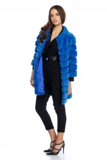 JACKET HAVANAIMPERIAL BLUE MINK