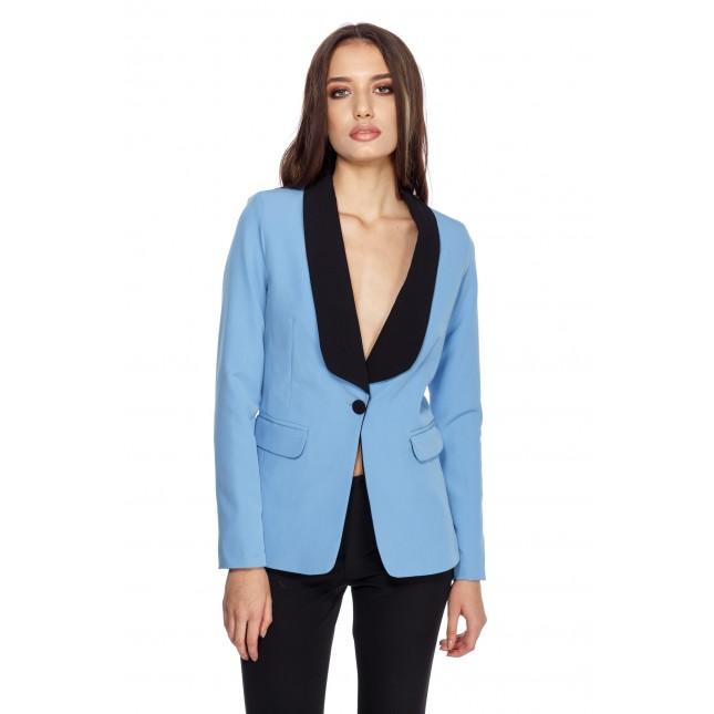 Jacheta albastra de dama