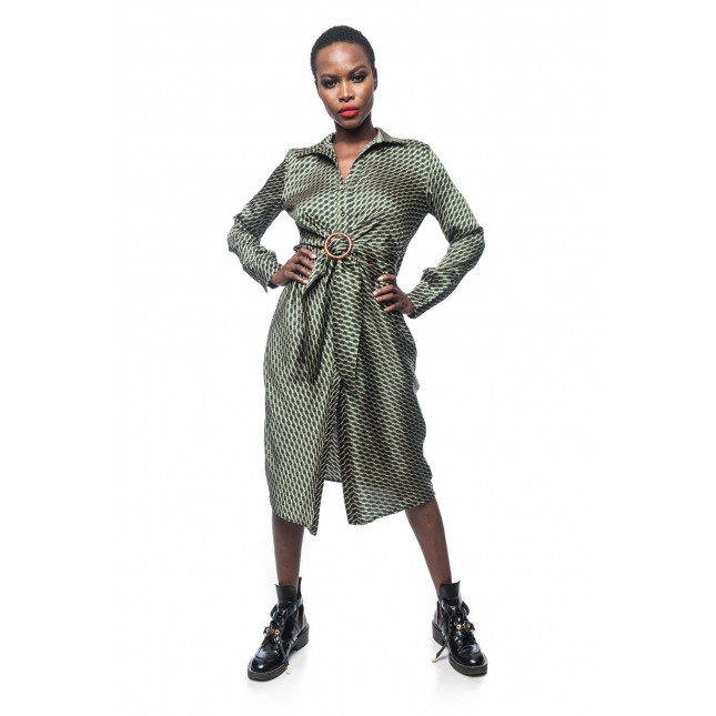 Inary Green Dress