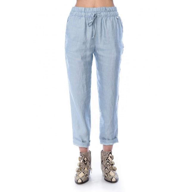 Pantaloni Celeste