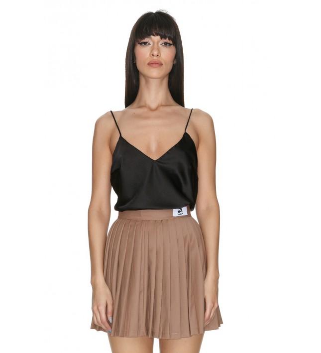 Ama  Brown Skirt