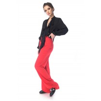 Pantaloni Red-Corai