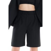 Zest black short pants