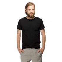 Tricou negru casual, pentru barbati
