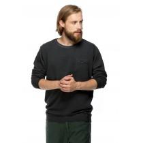 Bluza casual neagra pentru barbati