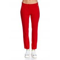 Pantaloni smart casual, rosii, de dama