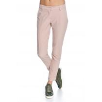 Pantaloni roz smart casual de dama