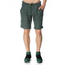 Pantaloni scurti verzi pentru barbati, casual