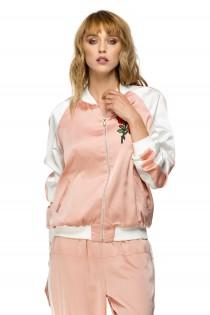 Jacheta roz sport-casual, de dama