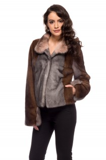 JACKET MULTICOLOR MINK