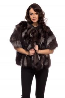 Jacheta din blana de vulpe, pentru femei