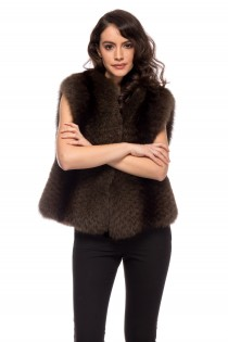 VEST TRF BROWN FOX 44