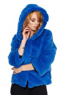 Blana albastra de nurca, pentru femei
