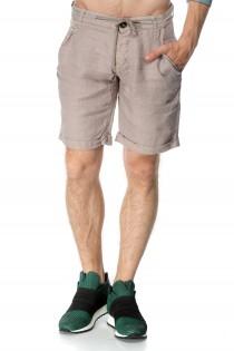 Pantaloni scurti crem pentru barbati, casual