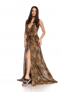Luna Print Dress