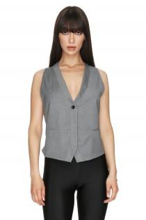 Syora Grey Vest