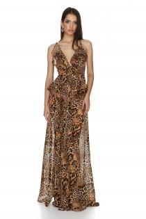 Luna Animal print Dress