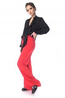 Pantaloni Red-Corai