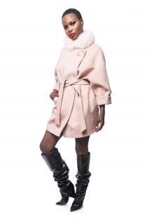 Palton Dama Xlarge Rose