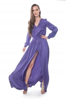 Midnight Purple Dress
