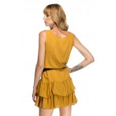 Rochie Summer Waves Mustard